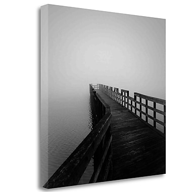 Tangletown Fine Art 'Concord Pier' Photographic Print on Wrapped Canvas; 20'' H x 20'' W