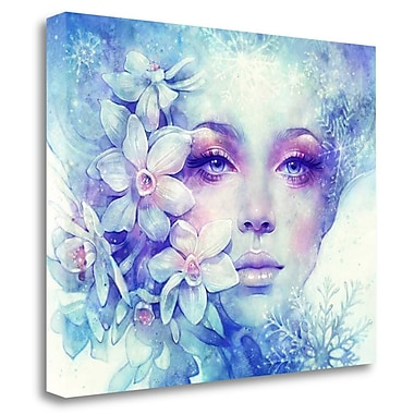 Tangletown Fine Art 'December' Graphic Art Print on Wrapped Canvas; 20'' H x 26'' W