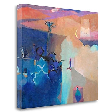 Tangletown Fine Art 'Door to the Kasbah' Print on Wrapped Canvas; 23'' H x 26'' W