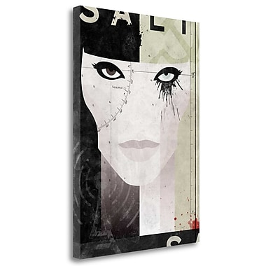 Tangletown Fine Art 'Salt' Graphic Art Print on Wrapped Canvas; 34'' H x 24'' W