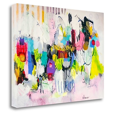 Tangletown Fine Art 'Lost' Print on Wrapped Canvas; 24'' H x 32'' W