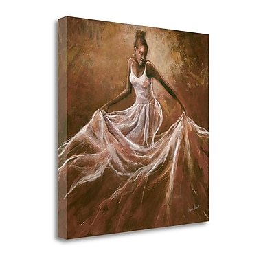 Tangletown Fine Art 'Ethereal Grace' Print on Wrapped Canvas; 30'' H x 30'' W