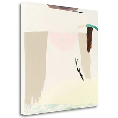 Tangletown Fine Art 'Light and the Desert' Graphic Art Print on Wrapped Canvas; 35'' H x 35'' W