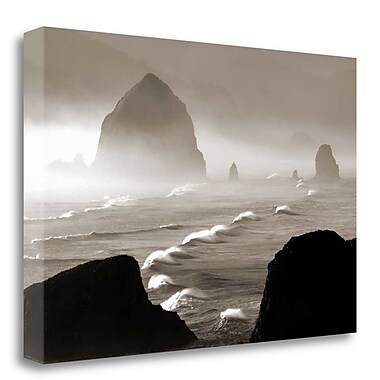 Tangletown Fine Art 'Offshore Wind' Photographic Print on Wrapped Canvas; 26'' H x 39'' W