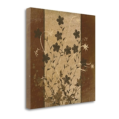 Tangletown Fine Art 'Flowers II' Graphic Art Print on Wrapped Canvas; 30'' H x 30'' W