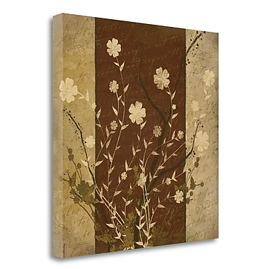 Tangletown Fine Art 'Flowers I' Graphic Art Print on Wrapped Canvas; 20'' H x 20'' W