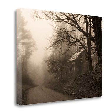 Tangletown Fine Art 'Parish Hill Road' Photographic Print on Wrapped Canvas; 24'' H x 32'' W