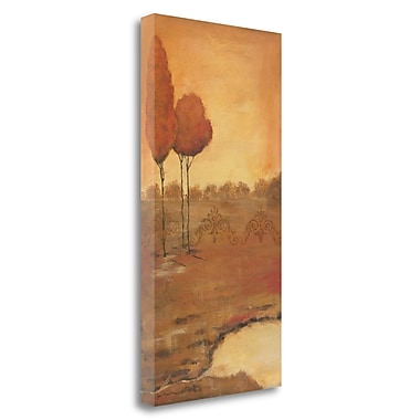 Tangletown Fine Art 'Natures Hue I' Print on Wrapped Canvas; 34'' H x 17'' W