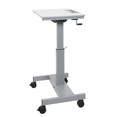Luxor (STUDENT-C) Student Desk - Sit/Stand Desk with Height Adjustable Crank Handle