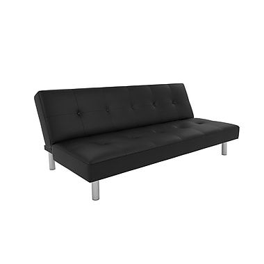 DHP Nola Futon, Black Mattress (2051009)
