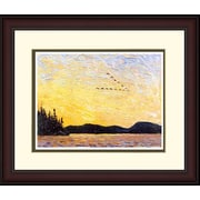 "Northland Art Round Lake, Mud Bay  by Tom Thomson,  Exterior Size: 34"" x 38   (S-NCTT11)"