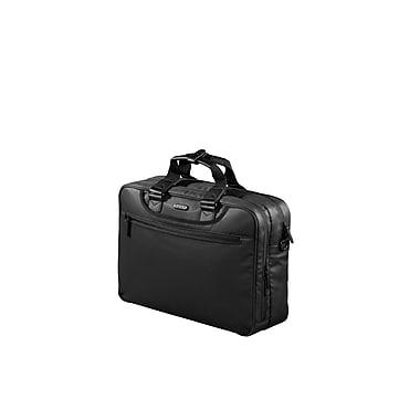 Jump – Mallette Stripe 2475 pour portable de 16/15,4 po, polyester enduit de PU sur le dessus, doublure en polyester, noir
