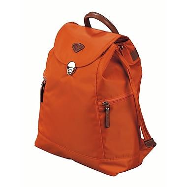 JUMP – Sac à dos Nice en nylon sergé haute densité, doublure en polyester, orange (6525)