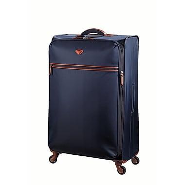JUMP – Ensemble de 3 valises extensibles Nice en nylon sergé haute densité, doublure en polyester, bleu marine (6571/2/3)