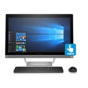 HP - PC tout-en-un Pavilion 27-A230  Z5M04AA#ABA 27 po, 2,4 GHz Intel Core i5-7400T, DD 1 To, 12 Go DDR4, Win 10 Famille