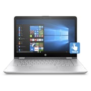 "HP Pavilion x360 14-ba010ca 1UG18UA#ABL 14"" Touch Screen 2-in-1, 2.3 GHz Intel Pentium 4415U, 1 TB HDD, 8 GB DDR4, Win10"