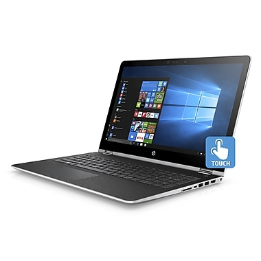 HP-Portatif Pavilionx360 15-br010ca 1UH08UA#ABL 15,6po tactile 2-en-1, 2,3GHz Intel Pentium 4415U, DD 1To, 8Go DDR4, Win10