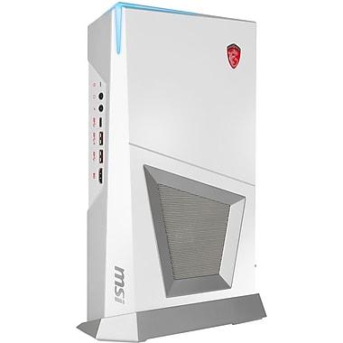 MSI – Mini PC de jeu Trident 3 ARCTIC VR7RD-048US Intel Core i7-7700 3,6 GHz, DD 1 To + SSD 256 Go, 16 Go, Win10