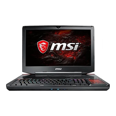 MSI - Portatif de jeu GT83VR 7RE-266CA 18,4 po, Core i7-7820HK 3,9 GHz, DD1 To + SSD512 Go, 32Go, GeForce GTX 1070 SLI, Win10