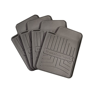 WeatherTech® FloorLiner Drink Coasters, Black, 4/Pack