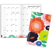 AT-A-GLANCE® – Agenda de poche 2018 Flower Pop, 2 ans, 3 3/4 pox 6 1/4 po