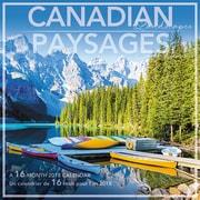 Daydream® – Mini-calendrier décoratif de 16 mois 2018, Paysages canadiens, bilingue