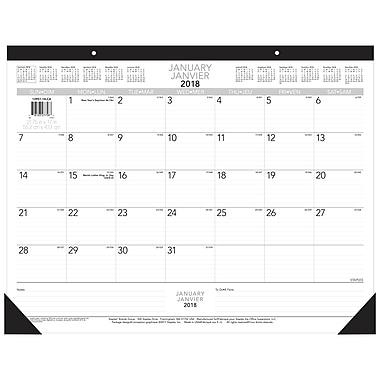 Staples® 2018 Desk Calendar, 17