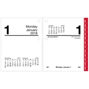 AT-A-GLANCE® – Recharge pour calendrier de table 2018, 3 po x 3 3/4 po