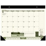"At-A-Glance® 2018 Monthly Recycled Desk Pad Calendar, 22"" x 17"", English"