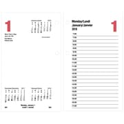 AT-A-GLANCE® – Recharges de calendrier de table quotidien 2018