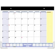"AT-A-GLANCE® 2018 QuickNotes® Monthly Recycled Desk Pad Calendar, 22"" x 17"", Bilingual"