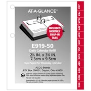 "AT-A-GLANCE® 2018 Desk Calendar Refill, 3"" x 3-3/4"""