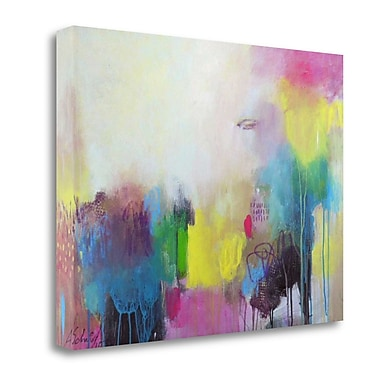 Tangletown Fine Art 'A Day at the Coast 0.4' Print on Wrapped Canvas; 20'' H x 26'' W