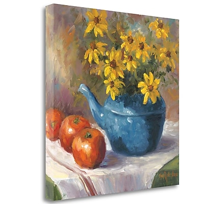 Tangletown Fine Art 'Black Eyed Susans' Print on Wrapped Canvas; 25'' H x 25'' W