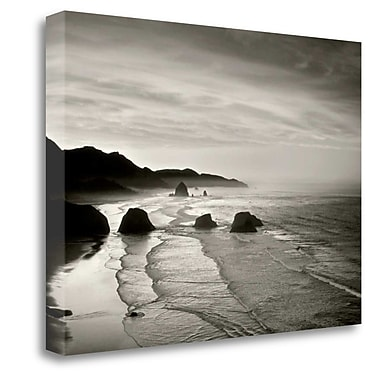 Tangletown Fine Art 'Cannon Beach' Photographic Print on Wrapped Canvas; 35'' H x 48'' W