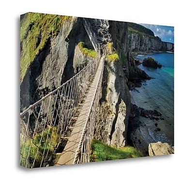 Tangletown Fine Art 'Bridge Ridge II' Photographic Print on Wrapped Canvas; 20'' H x 29'' W