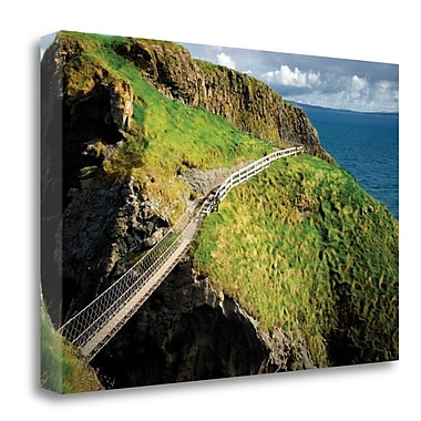 Tangletown Fine Art 'Bridge Ridge III' Photographic Print on Wrapped Canvas; 32'' H x 48'' W