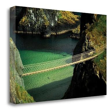 Tangletown Fine Art 'Bridge Ridge V' Photographic Print on Wrapped Canvas; 32'' H x 48'' W