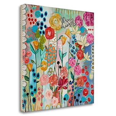 Tangletown Fine Art 'Bloom' Print on Wrapped Canvas; 20'' H x 20'' W