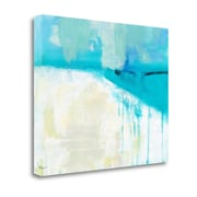Tangletown Fine Art 'Coastal Blues 1' Print on Wrapped Canvas; 20'' H x 24'' W