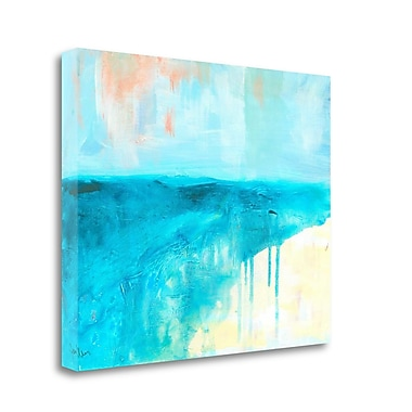 Tangletown Fine Art 'Coastal Blues 2' Print on Wrapped Canvas; 20'' H x 24'' W