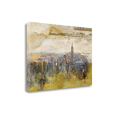 Tangletown Fine Art 'NYC Echelle' Graphic Art Print on Wrapped Canvas; 28'' H x 39'' W