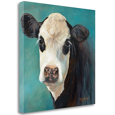 Tangletown Fine Art 'Miss Opal' Print on Wrapped Canvas; 35'' H x 35'' W