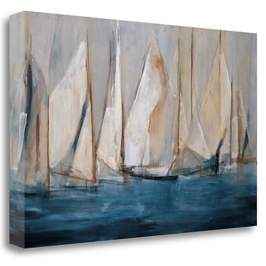 Tangletown Fine Art 'On the Winds' Print on Wrapped Canvas; 24'' H x 39'' W