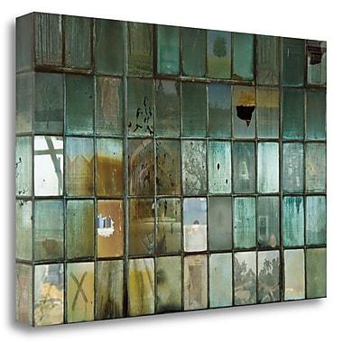 Tangletown Fine Art 'Broken' Graphic Art Print on Wrapped Canvas; 23'' H x 34'' W