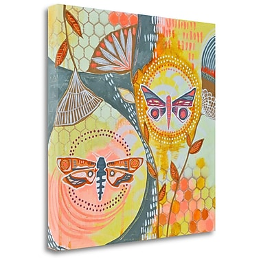 Tangletown Fine Art 'Uncontained' Print on Wrapped Canvas; 24'' H x 24'' W