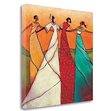Tangletown Fine Art 'Unity' Print on Wrapped Canvas; 35'' H x 35'' W
