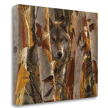 Tangletown Fine Art 'The Guardian' Photographic Print on Wrapped Canvas; 21'' H x 27'' W