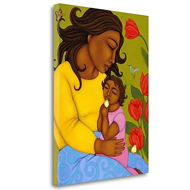 Tangletown Fine Art 'Mother and Child' Print on Wrapped Canvas; 23'' H x 17'' W
