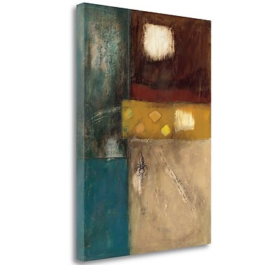 Tangletown Fine Art 'Structure I' Print on Wrapped Canvas; 38'' H x 28'' W